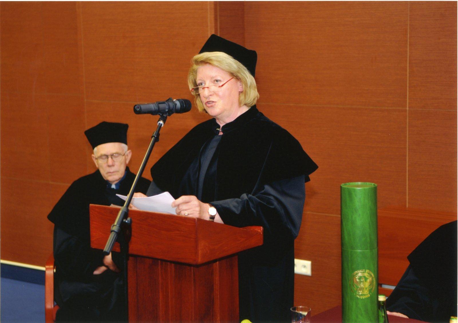 Ceremonia wręczenia doktoratu