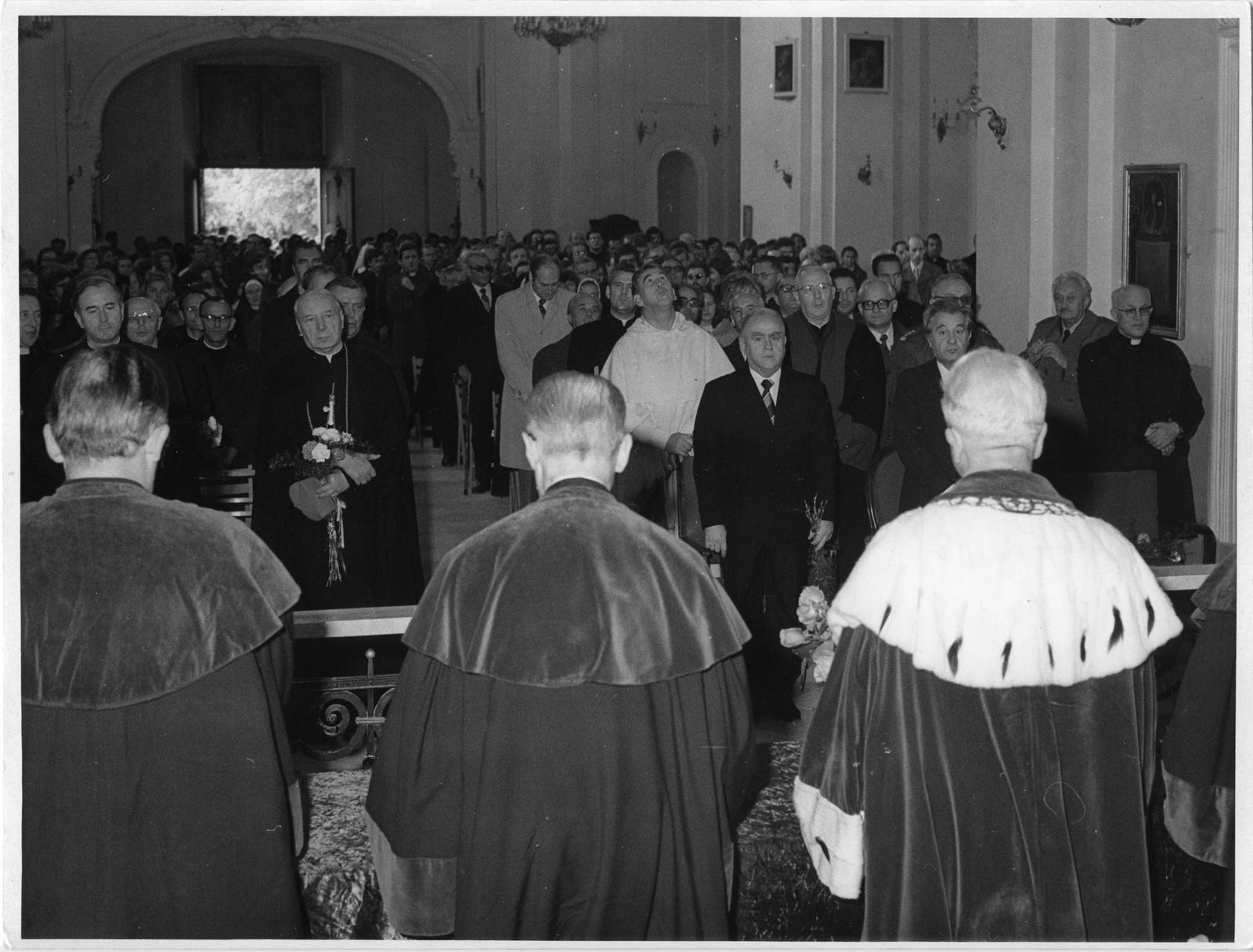 Inauguracja roku akademickiego 1976/1977
