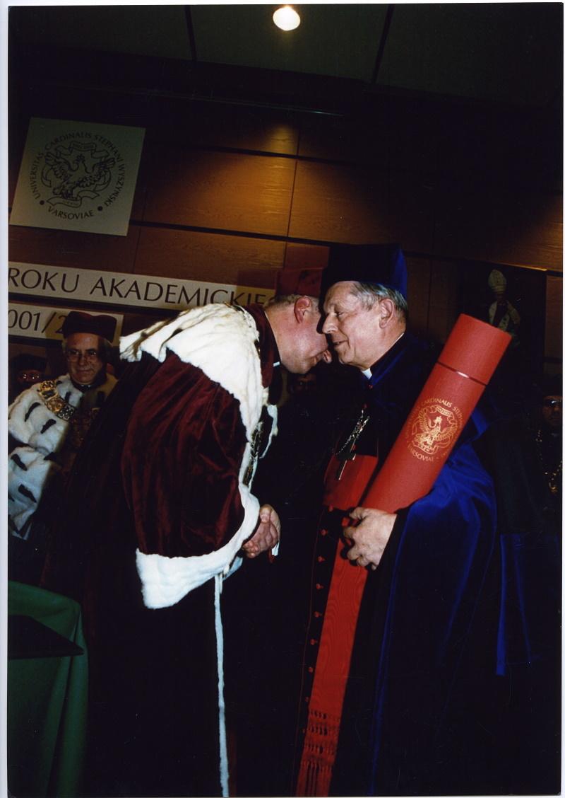 Doktorat hc dla kard. Józefa Glempa, Prymasa Polski, Wielkiego Kanclerza UKSW