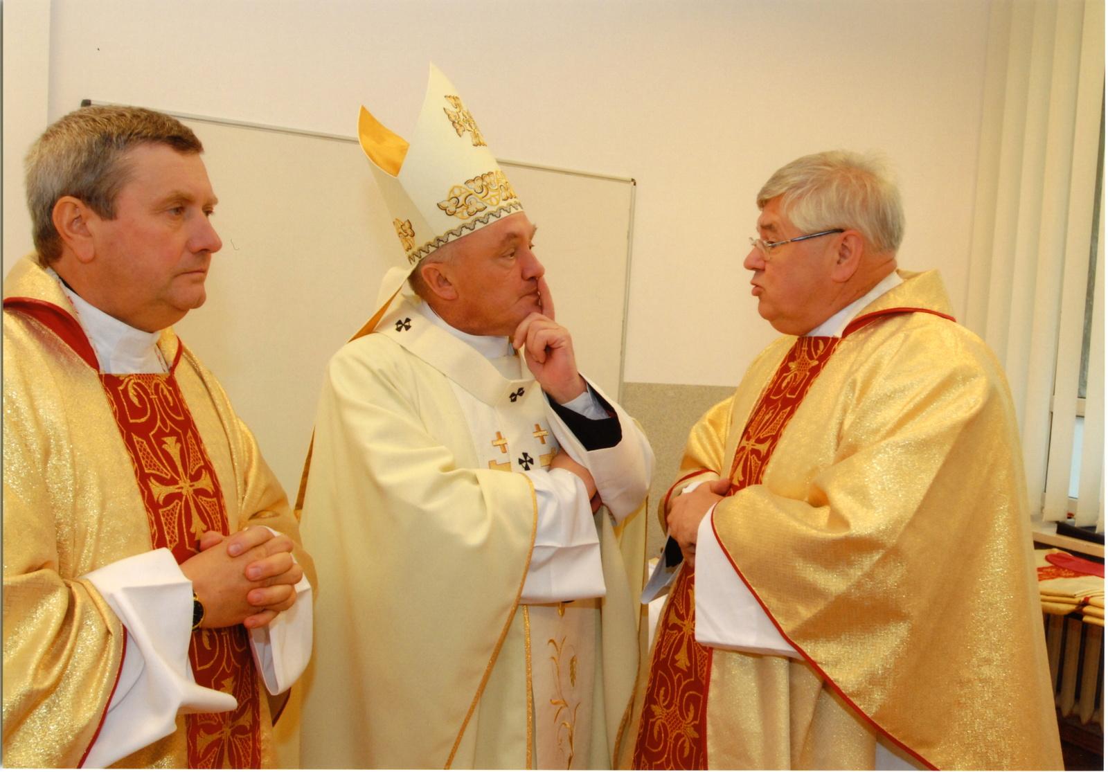 Wielki Kanclerz UKSW kardynał Kazimierz Nycz