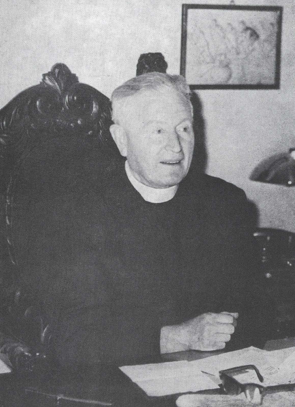 Rektor ks. prof. Józef Iwanicki