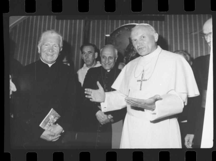 Spotkanie z Janem Pawłem II w Watykanie