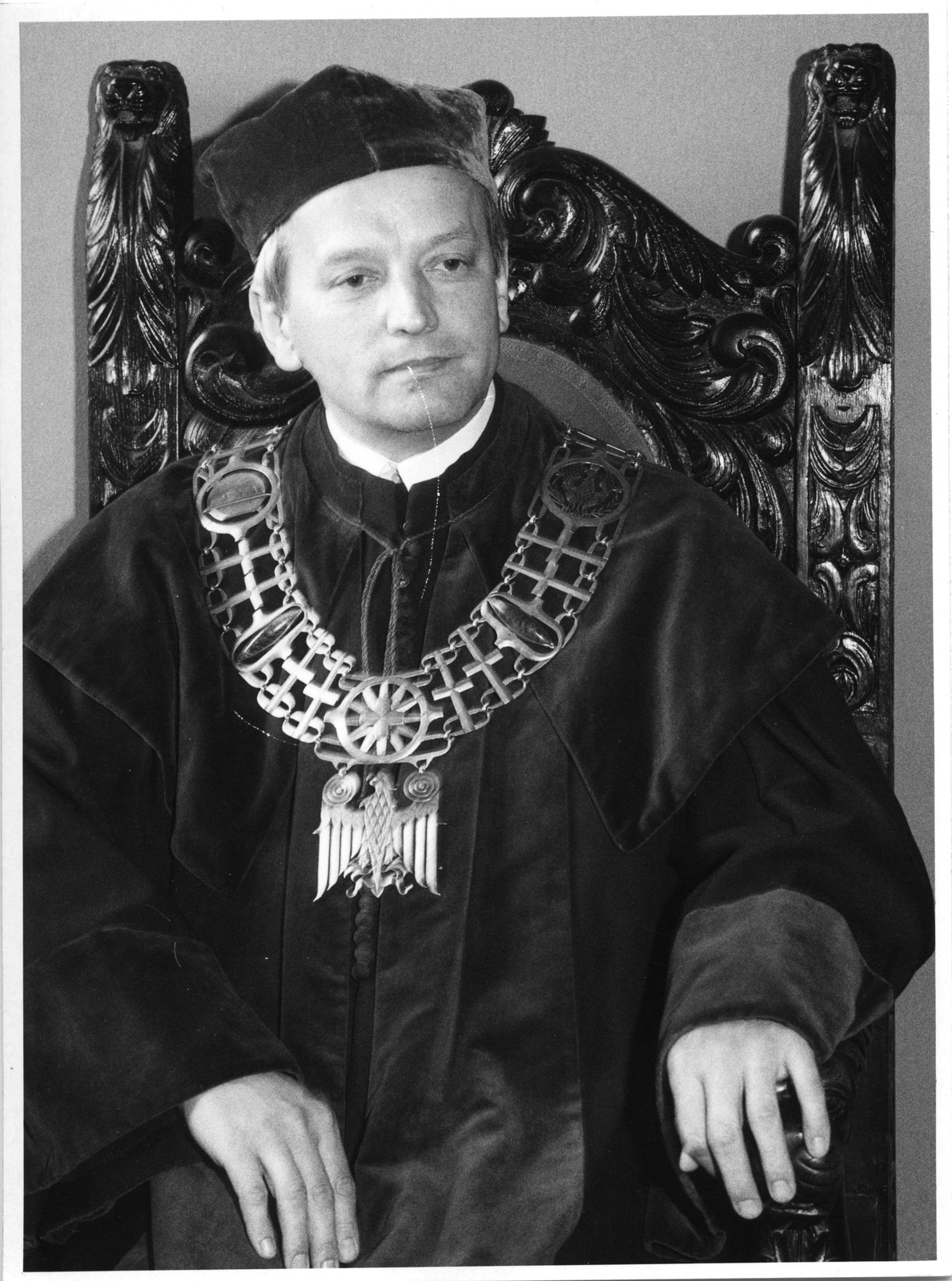 Ks. prof. Helmut Juros jako prorektor ATK