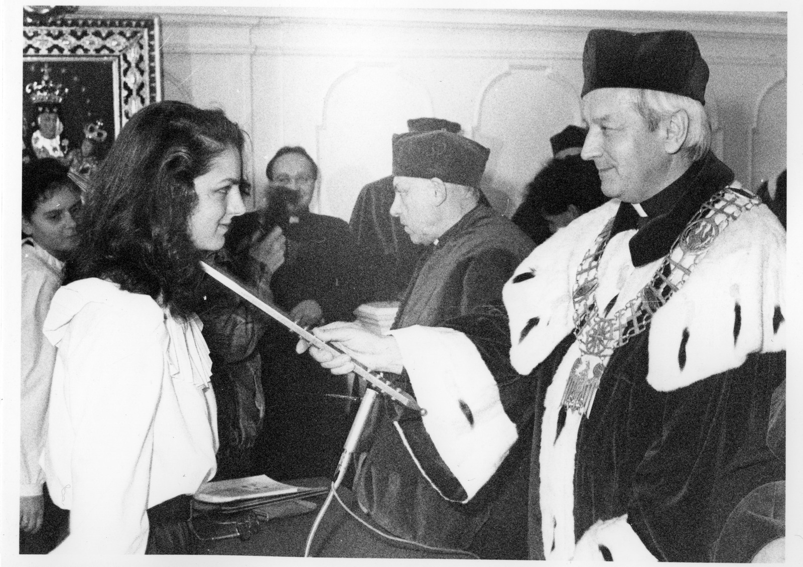 Inauguracja roku akademickiego 1989/1990