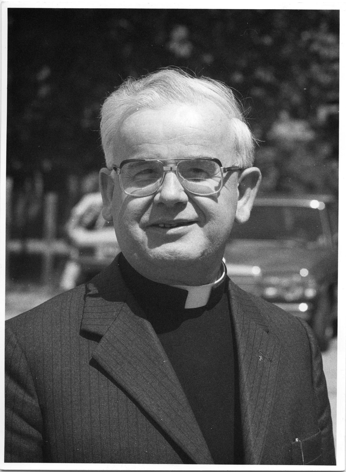 Rektor ATK ks. prof. Jan Łach