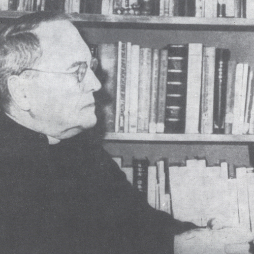 Rektor ks. prof. Wincenty Kwiatkowski