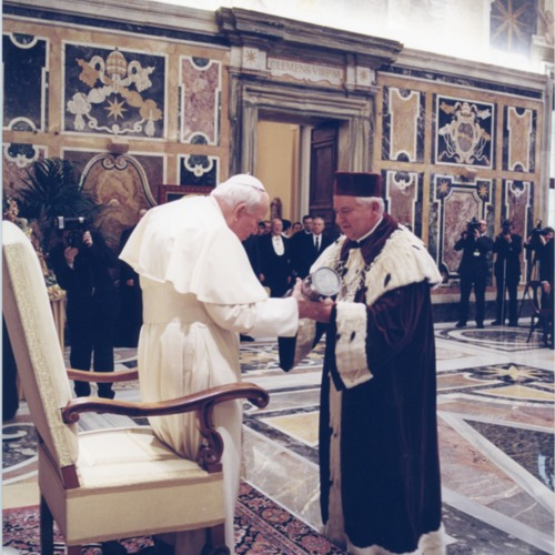 Doktorat honoris causa dla Jana Pawła II