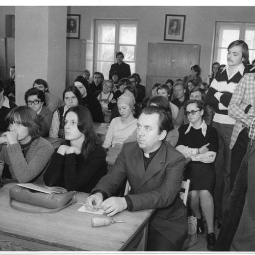 Spotkanie studentów I roku  z władzami uczelni