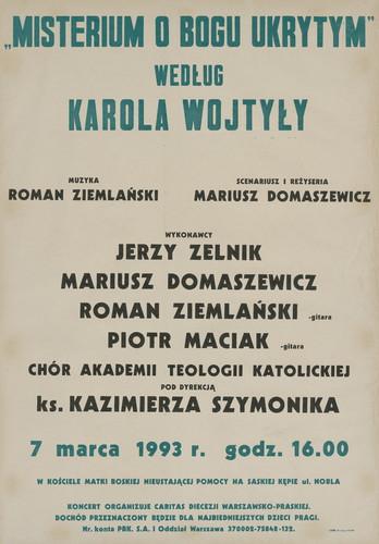 Misterium o Bogu ukrytym według Karola Wojtyły